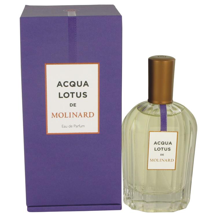 Molinard Acqua Lotus Perfume 90 ml Eau De Parfum Spray (Unisex) for Women