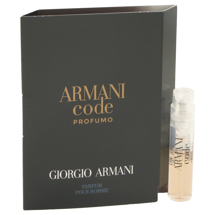 Armani Code Profumo by Giorgio Armani –  Vial (sample) .05 oz 1 ml for Men