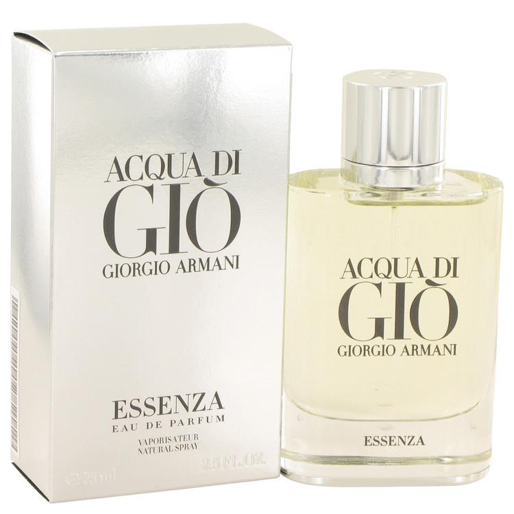 Acqua Di Gio Essenza by Giorgio Armani for Men Eau De Parfum Spray 2.5 oz
