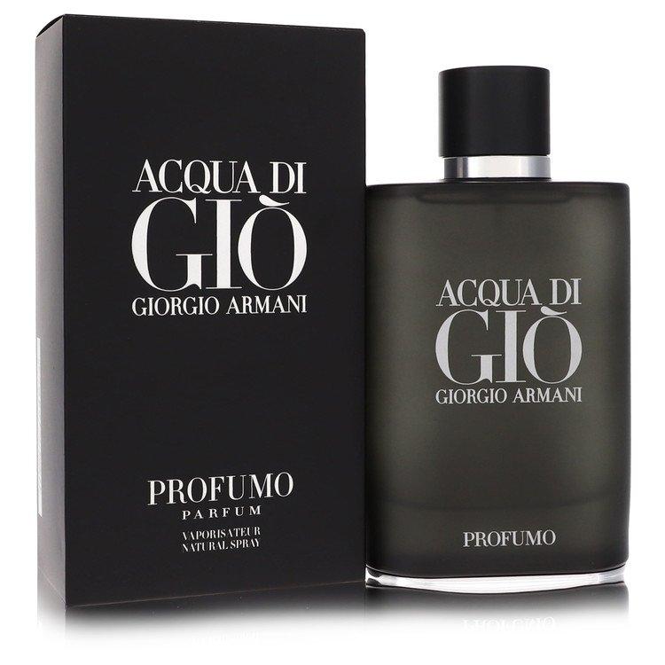 Acqua Di Gio Profumo by Giorgio Armani for Men Eau De Parfum Spray 4.2 oz