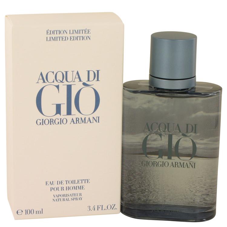 Acqua Di Gio Blue Edition Cologne 3.4 oz EDT Spray (Limited Edition Unboxed) for Men