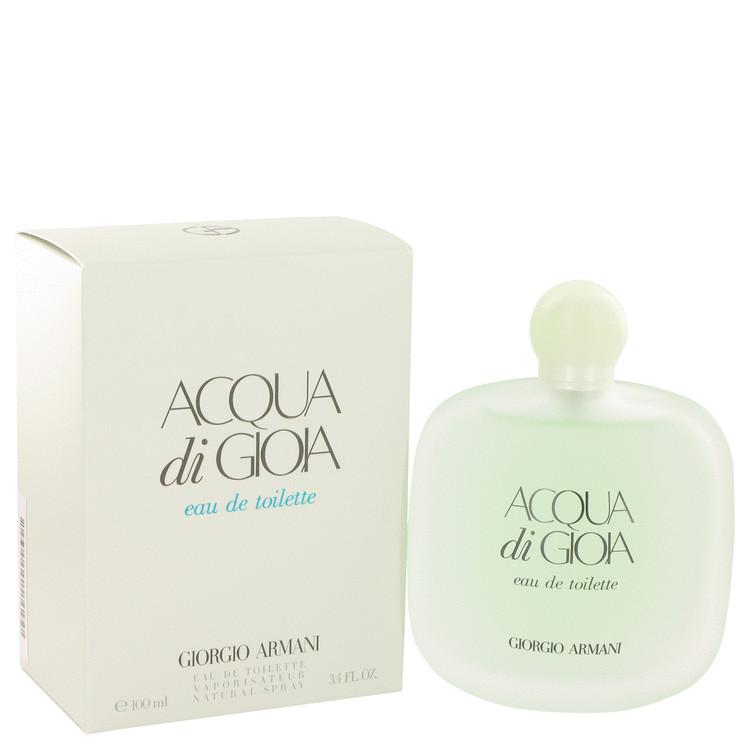 Acqua Di Gioia by Giorgio Armani for Women Eau De Toilette Spray 3.4 oz