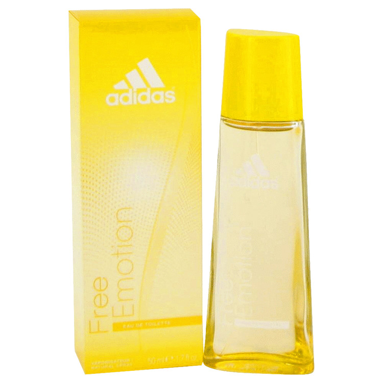 Adidas Free Emotion Perfume by Adidas 50 ml EDT Spay for Women