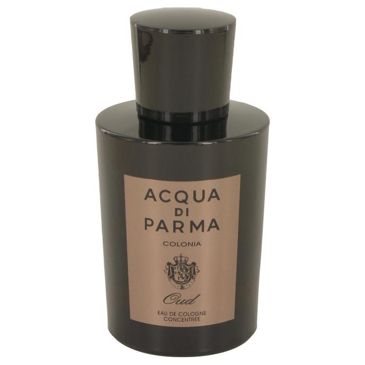 Acqua Di Parma Colonia Intensa Oud by Acqua Di Parma for Men Eau De Cologne Concentree Spray (Tester) 3.4 oz