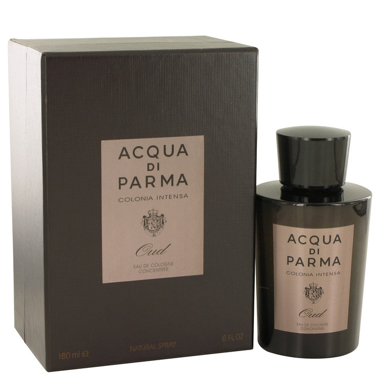 Acqua Di Parma Colonia Intensa Oud Cologne 6 oz EDC Concentree Spray for Men