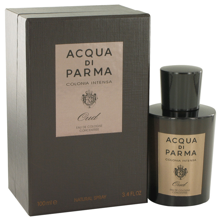 Acqua Di Parma Colonia Intensa Oud Cologne 100 ml Eau De Cologne Concentree Spray for Men
