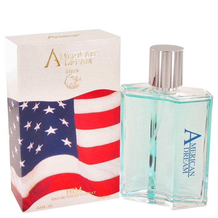 American Dream by American Beauty for Men Eau De Toilette Spray 3.4 oz