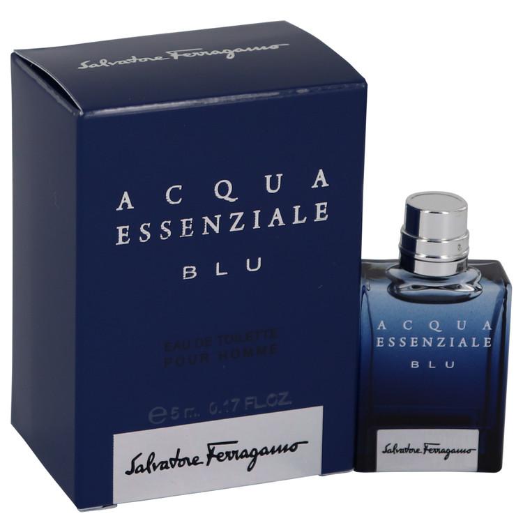 Acqua Essenziale Blu by Salvatore Ferragamo for Men Mini EDT .17 oz
