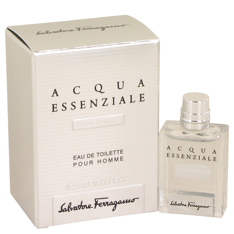 Acqua Essenziale Colonia by Salvatore Ferragamo for Men Mini EDT .17 oz