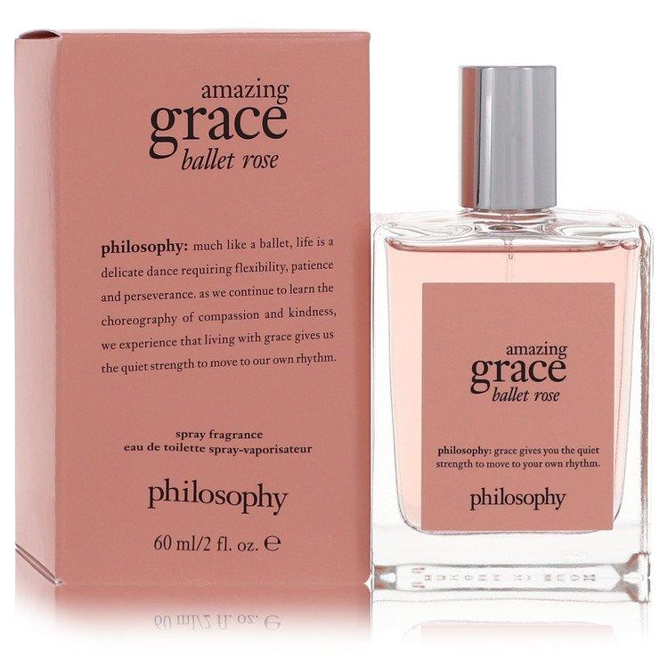 Amazing Grace Ballet Rose by Philosophy for Women Eau De Toilette Spray 2 oz