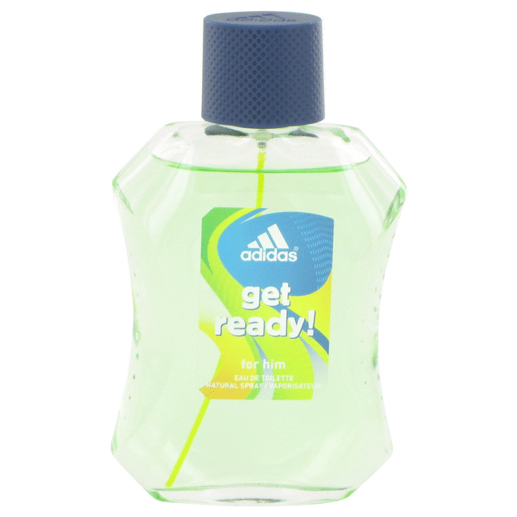 Adidas Get Ready by Adidas Men's Eau De Toilette Spray (unboxed) 3.4 oz
