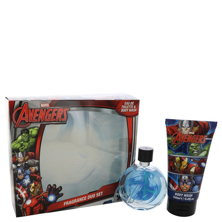 Avengers by Marvel for Men Gift Set -- 2.5 oz Eau De Toilette Spray + 5 oz Body Wash