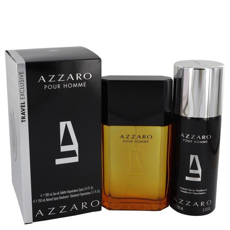 Azzaro for Men, Gift Set (3.4 oz EDT Spray + 5.1 oz Deodorant Spray)