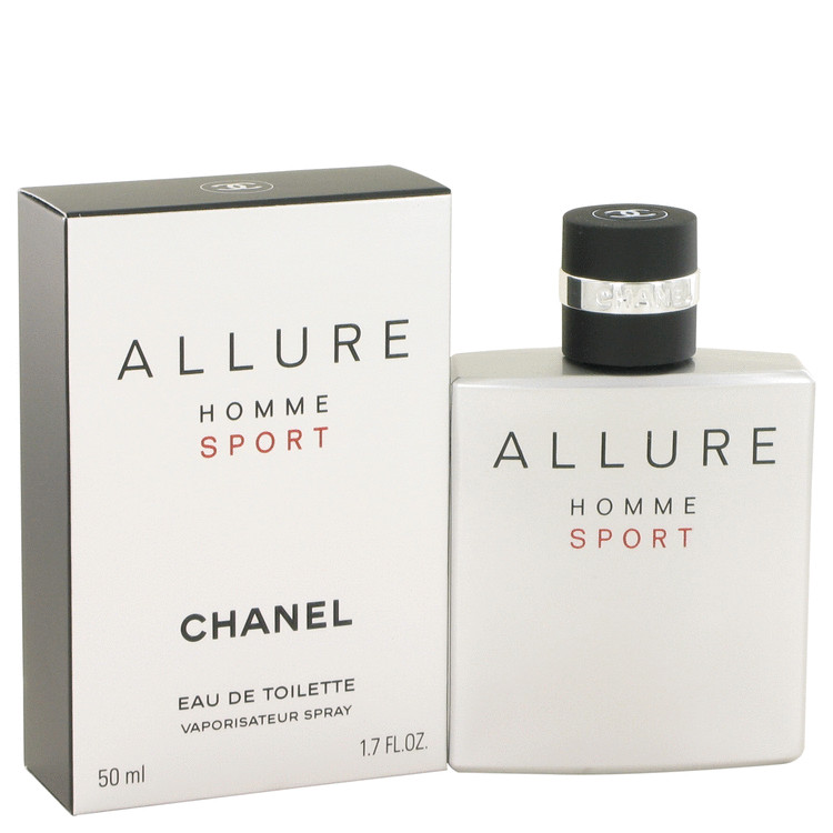 Allure Sport Cologne by Chanel 50 ml Eau De Toilette Spray for Men