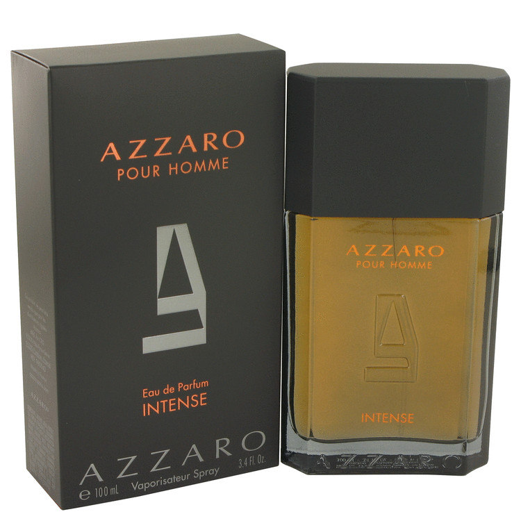 Azzaro Intense Cologne by Azzaro 100 ml Eau De Parfum Spray for Men