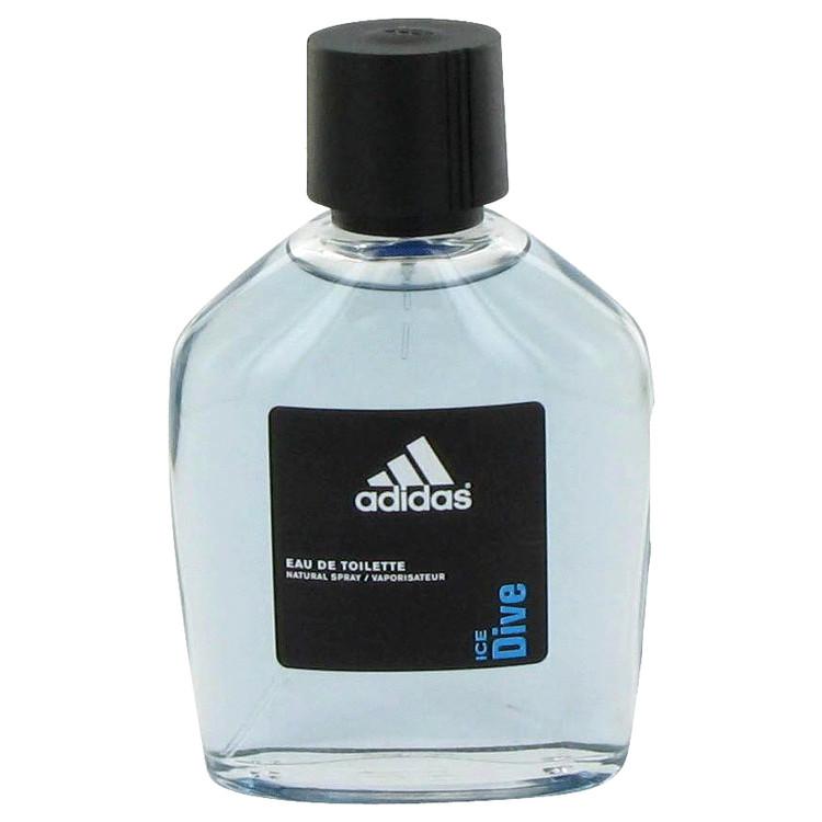 Adidas Ice Dive by Adidas Men's Eau De Toilette Spray (unboxed) 3.4 oz