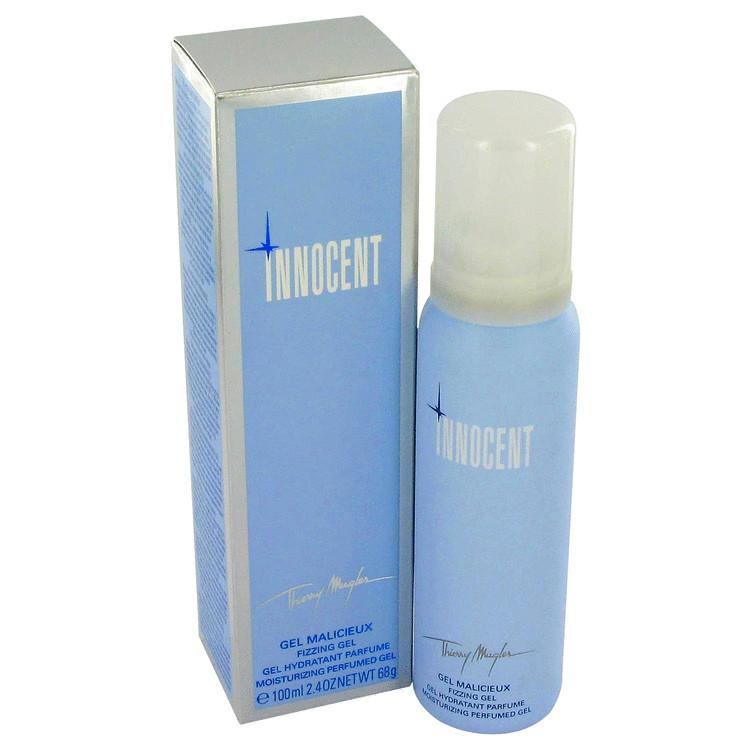 Angel Innocent Solid Perfume 2.4 oz Fizzing Gel - Moisturizing Perfumed Gel for Women