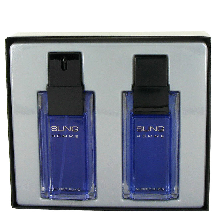 Alfred Sung Gift Set -- Gift Set - 3.4 oz Eau De Toilette Spray + 3.4 oz After Shave for Men