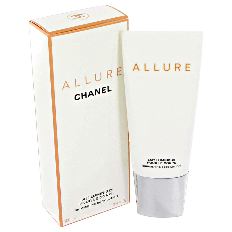 Allure Body Lotion by Chanel 3.4 oz Shimmering Body Lotion for Women