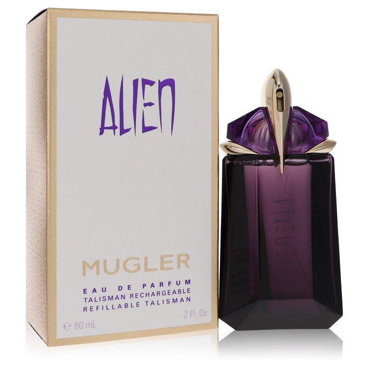 Alien by Thierry Mugler for Women Eau De Parfum Refillable Spray 2 oz