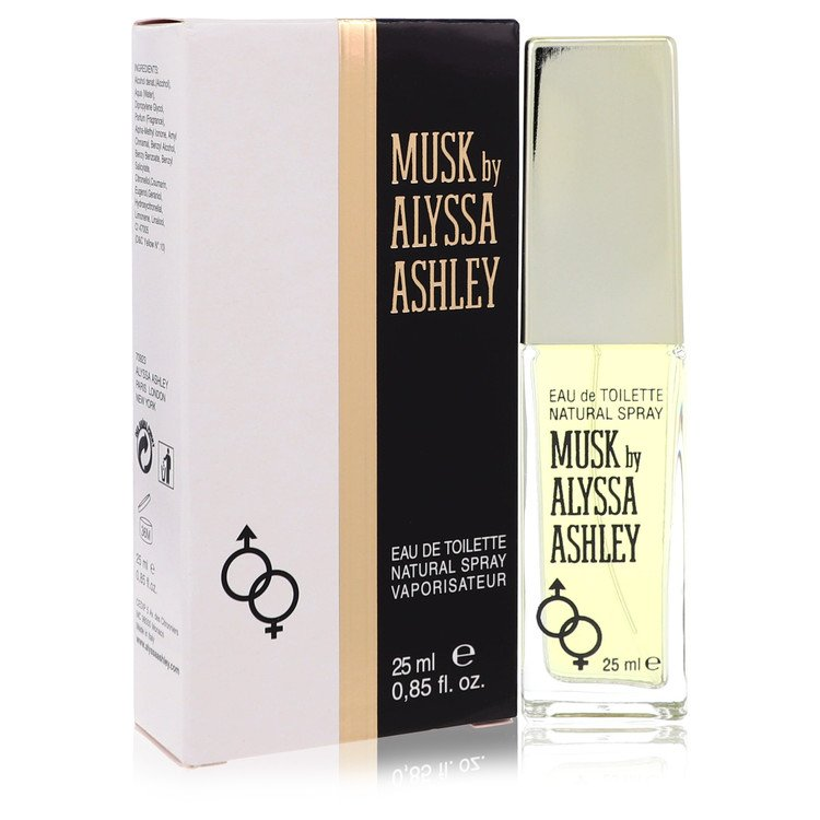 Alyssa Ashley Musk Perfume by Houbigant .85 oz EDT Spay for Women