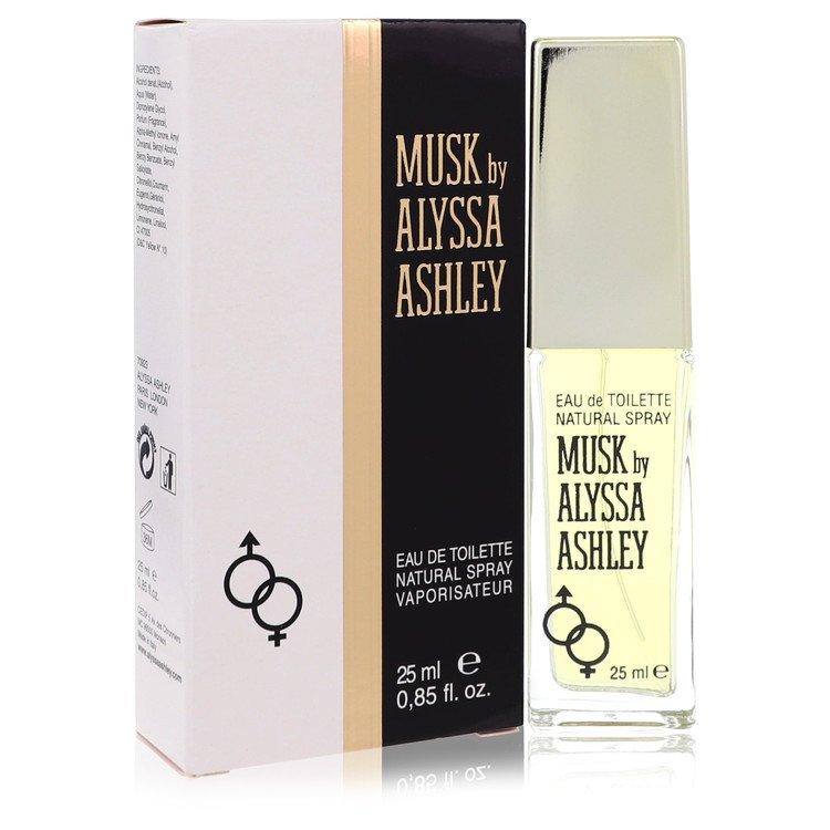 Alyssa Ashley Musk by Houbigant for Women Eau De Toilette Spray .85 oz