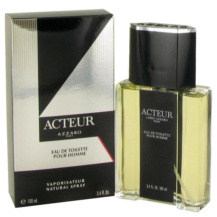 Acteur by Azzaro for Men Eau De Toilette Spray 3.4 oz
