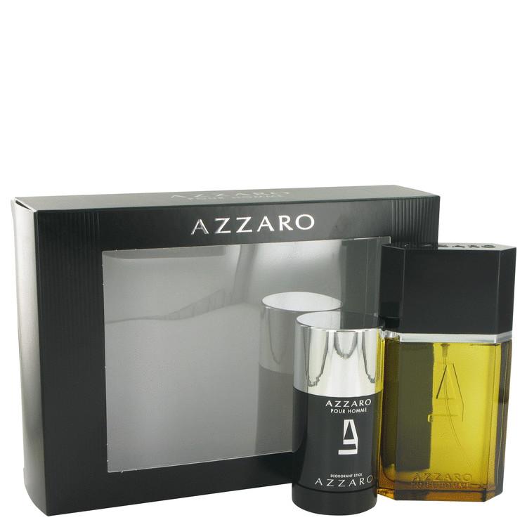 Azzaro Gift Set -- Gift Set - 3.4 oz Eau De Toilette Spray + 2.2 oz Deodorant Stick for Men