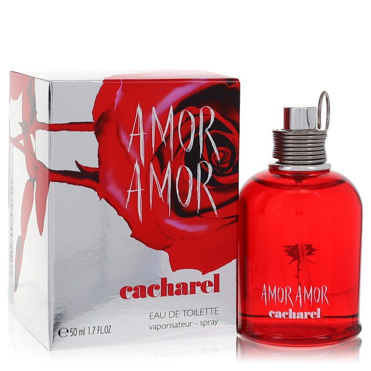 Amor Amor Perfume by Cacharel 50 ml Eau De Toilette Spray for Women