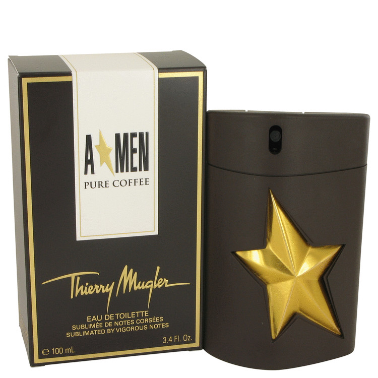Angel Pure Coffee Cologne by Thierry Mugler 100 ml EDT Spay for Men