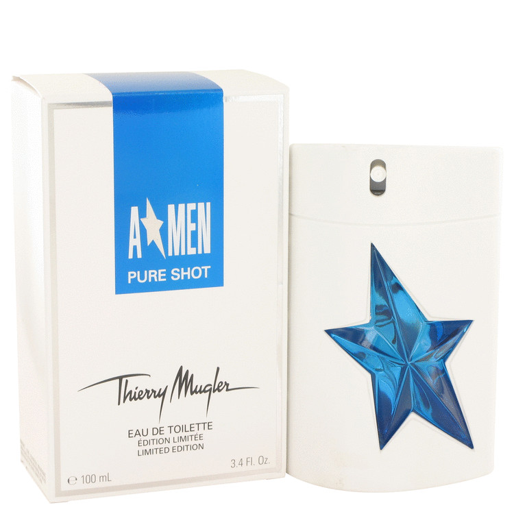 Angel Pure Shot Cologne by Thierry Mugler 100 ml EDT Spay for Men