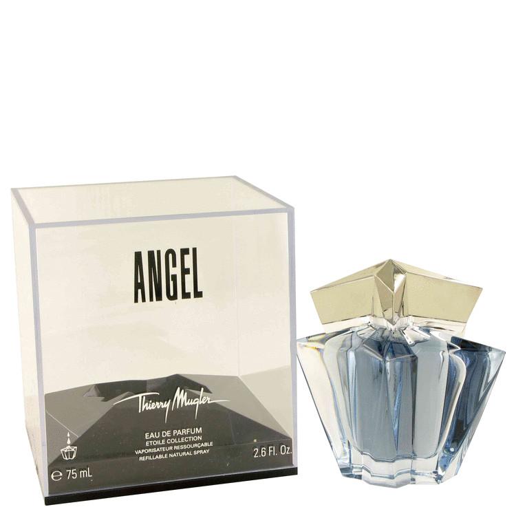 Angel Perfume 77 ml Eau De Parfum Spray Refillable for Women