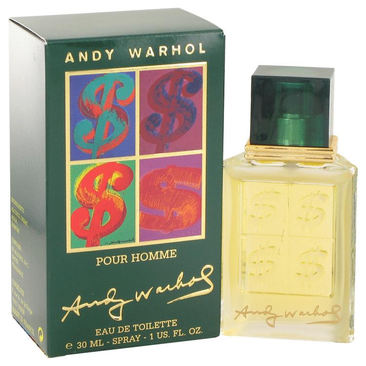 Andy Warhol by Andy Warhol for Men Eau De Toilette Spray 1 oz