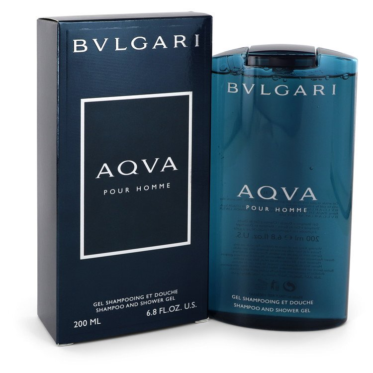 Aqua Pour Homme by Bvlgari Men's Shower Gel 6.8 oz
