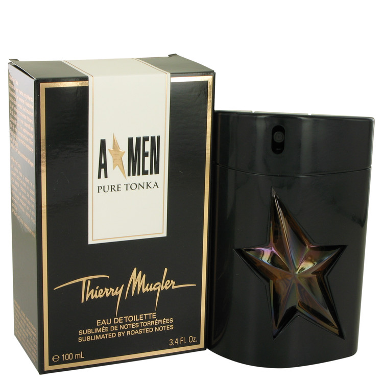 Angel Pure Tonka Cologne by Thierry Mugler 3.4 oz EDT Spay for Men