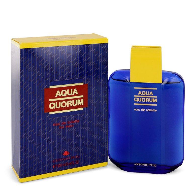 AQUA QUORUM by Antonio Puig –  Eau De Toilette 3.4 oz 100 ml for Men