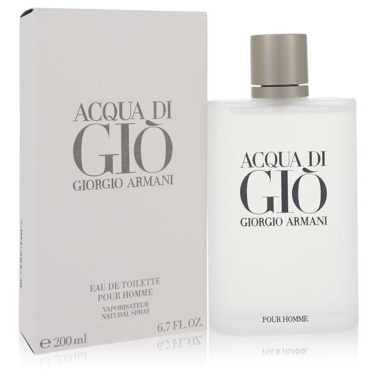 ACQUA DI GIO by Giorgio Armani for Men Eau De Toilette Spray 6.7 oz