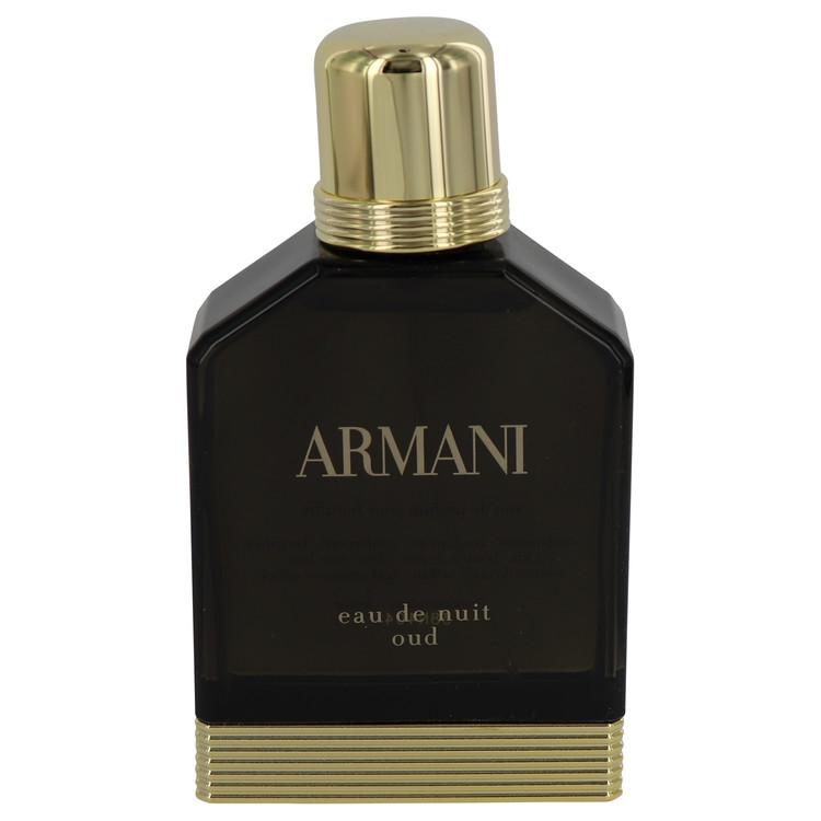 Armani Eau De Nuit Oud Cologne 100 ml Eau De Parfum Spray (Tester) for Men