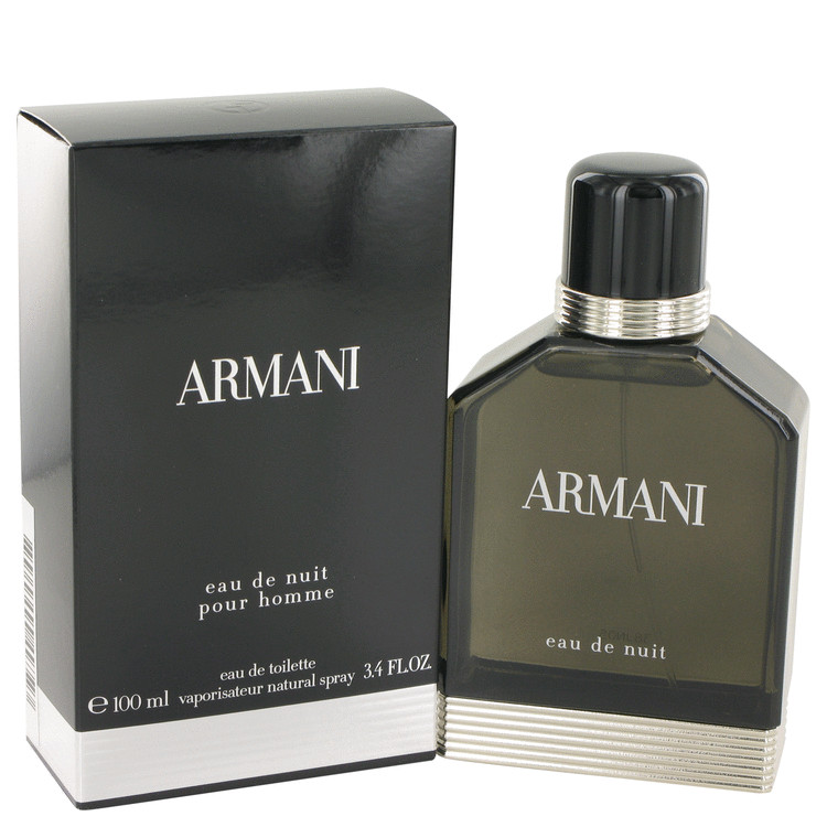 Armani Eau De Nuit Cologne by Giorgio Armani 100 ml EDT Spay for Men