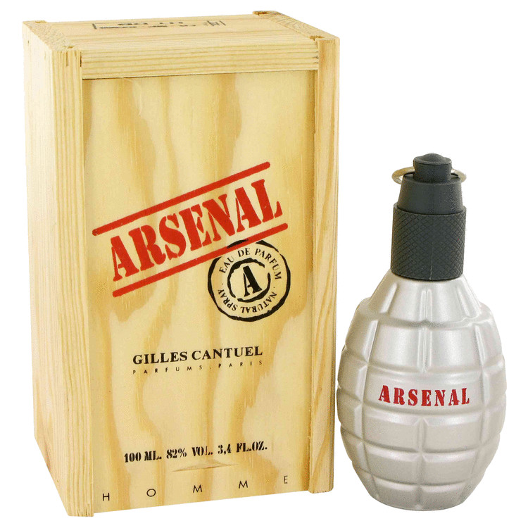 Arsenal Red Cologne by Gilles Cantuel 100 ml EDP Spay for Men