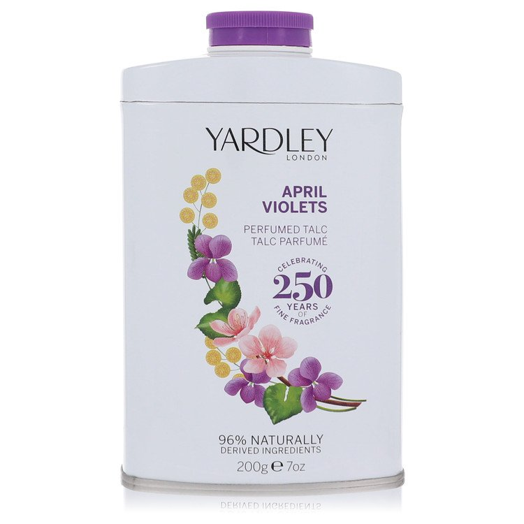 April Violets by Yardley London for Women Talc 7 oz