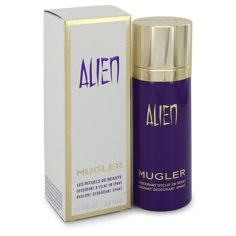 Alien Deodorant by Thierry Mugler 3.4 oz Deodorant Spray for Women