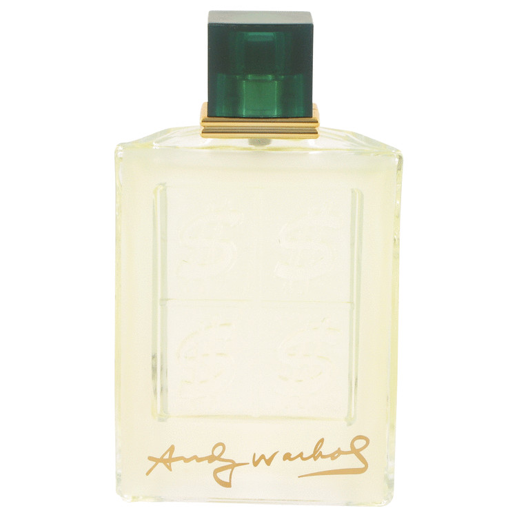 Andy Warhol Cologne 100 ml Eau De Toilette Spray (unboxed) for Men