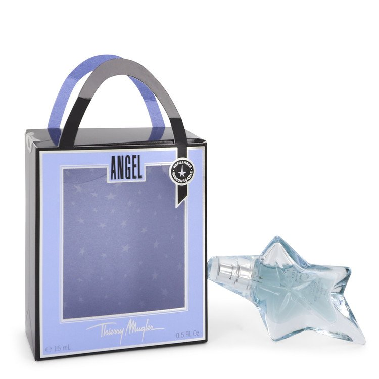 ANGEL by Thierry Mugler for Women Eau De Parfum Spray Refillable .5 oz