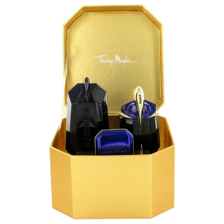 Alien Gift Set -- Gift Set - 1 oz Eau De Parfum Spray + .34 oz Prodigy Body Cream + 3.4 oz  Prodigy Shower Gel for Women
