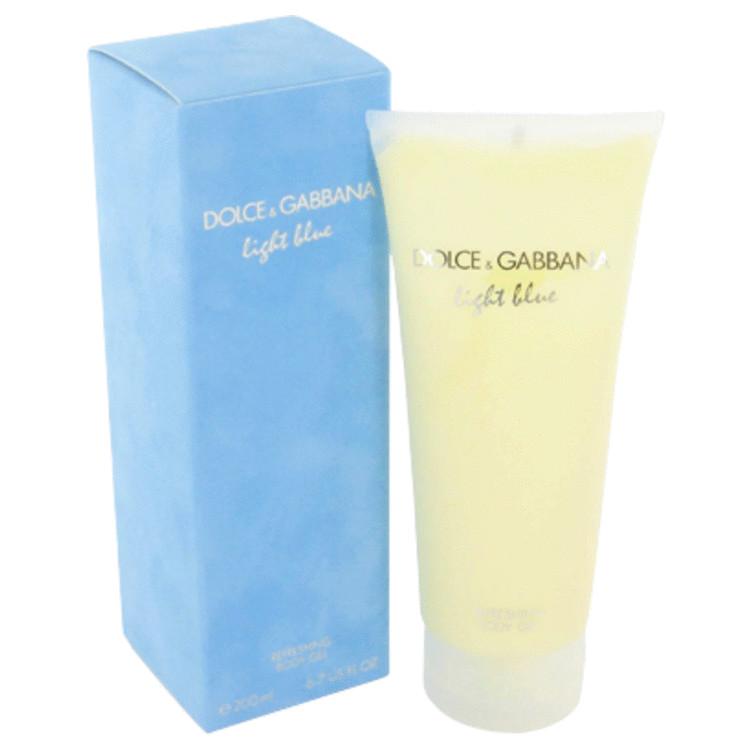 Light Blue Body Lotion by Dolce & Gabbana 6.7 oz Body Gel for Women