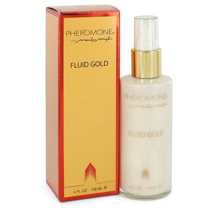Pheromone Body Lotion 4 oz Fluid Gold Lotion for Women