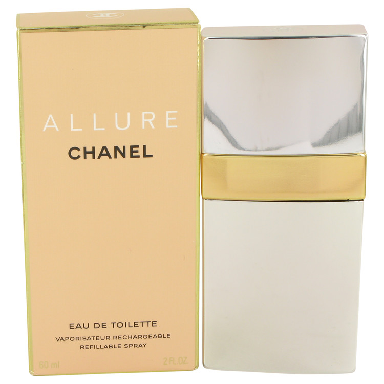 ALLURE by Chanel for Women Eau De Toilette Spray Refillable 2 oz