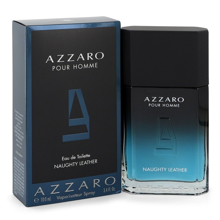 Azzaro Naughty Leather Cologne by Azzaro 100 ml EDT Spay for Men