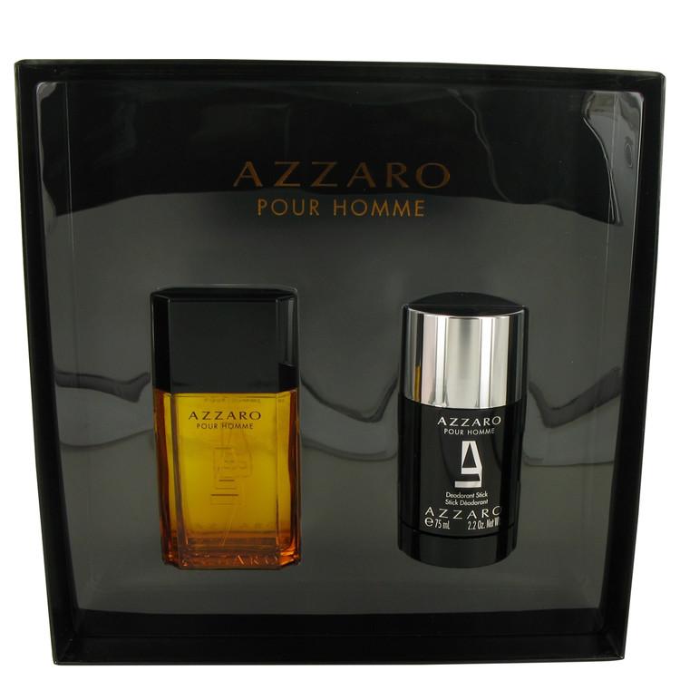Azzaro Gift Set -- Gift Set - 1.7 oz Eau De Toilette Spray + 2.2 oz Deodorant Stick for Men